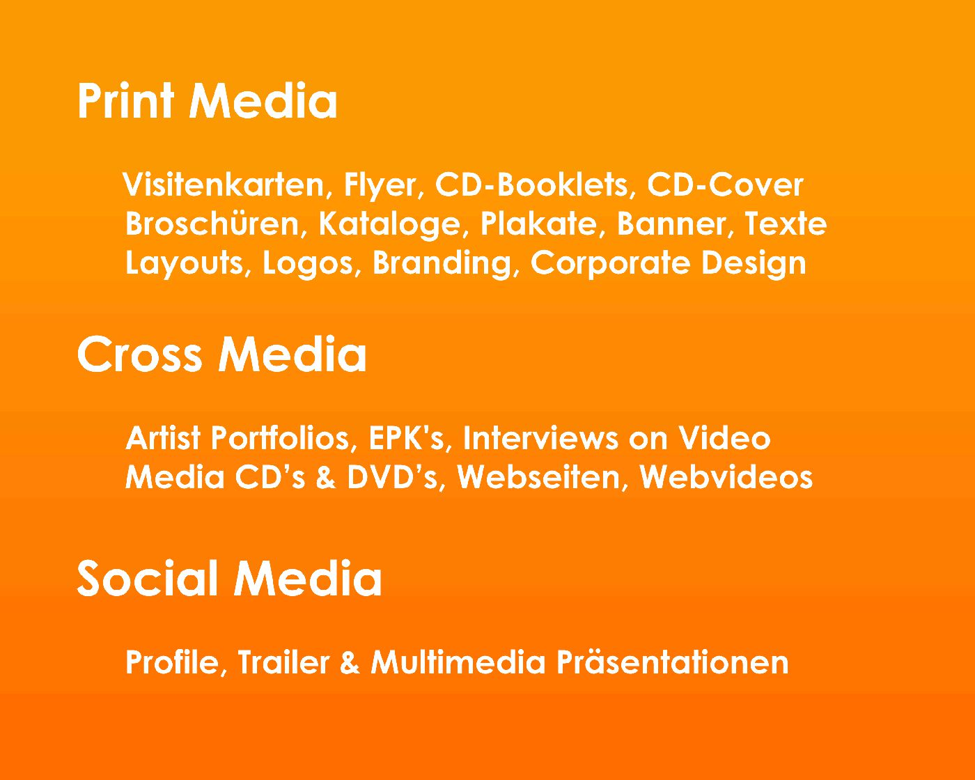CROSS MEDIA deutsch